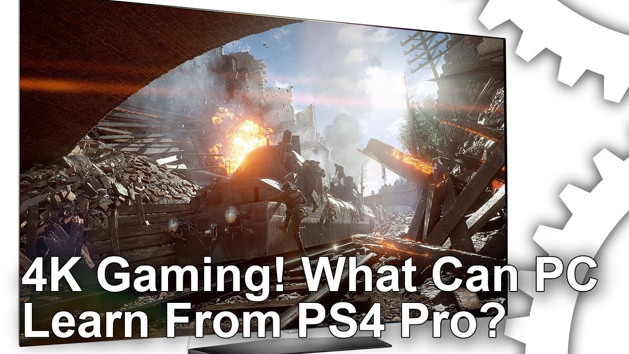4K gaming: what can PC learn from PlayStation Pro? • Eurogamer net