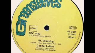 Capital Letters- UK Skanking + Killer DUB (Greensleeves 1979)