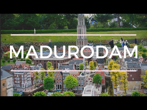 THE MINIATURE COUNTRY  - Madurodam The Netherlands HD Travel Video