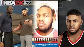 NBA 2k17 MyCAREER - BEST Face Scan Creation of Marcus Gento! Meeting High School Coach Prelude Ep. 1