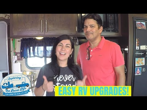 Simple RV Upgrades - Tips from a Fulltime RVing Family