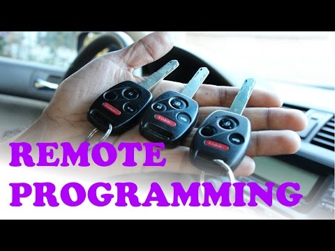 How to PROGRAM your KEY REMOTE for FREE