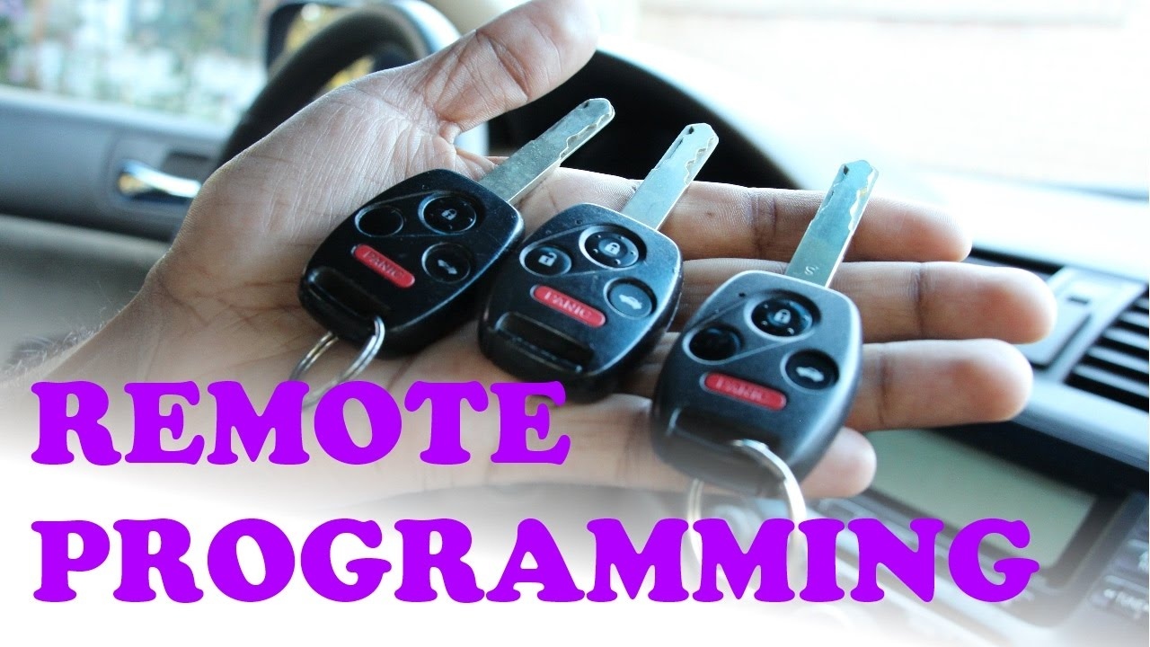 Honda Remote Key Programming
