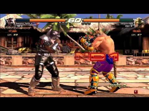 Tekken Revolution - King vs Armor King