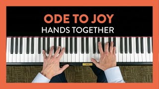 Ode to Joy Hands Together - Piano Lesson 80 - Hoffman Academy