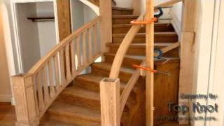 the making of a tangent hand-railing