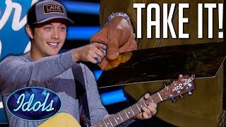 Download Judges Want Laine Hardy Back on American Idol 2019 | Idols Global Mp3 and Videos