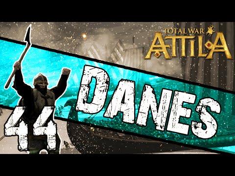 Total War: Attila - Danes Campaign #44 ~ Enemies In Africa!