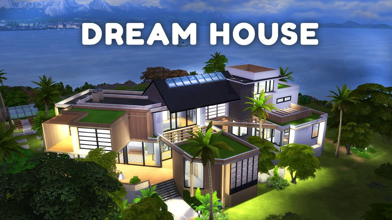My Dreamhouse The Sims 4 House Building W Sisligracy Youtube
