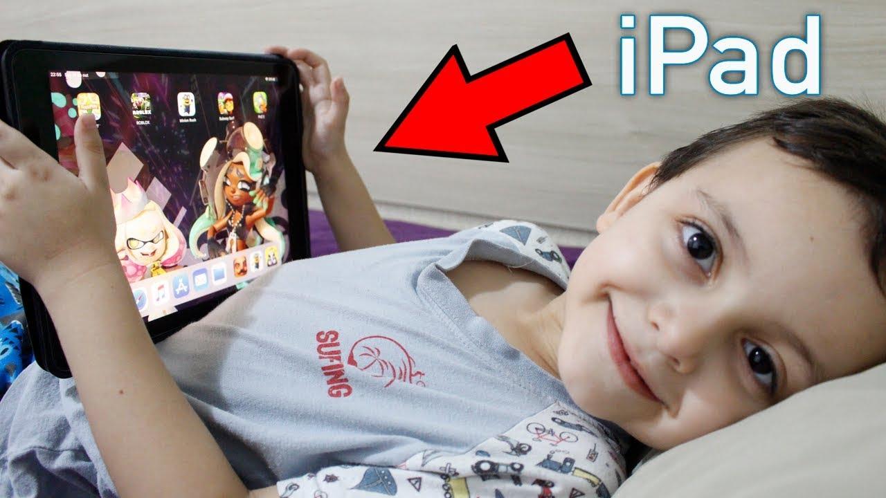 TOUR PELO IPAD DO RODRIGO! Jogos de iOS para Crianças - Games for Kids