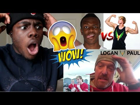 THE PAULS RESPOND TO THE CSI FIGHT! **called out**  Logan Paul Vlogs REACTION!!!