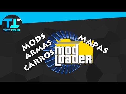 Como Usar MODLOADER - Instalar Carros, Mods, Armas, Etc, No Seu GTA SAN