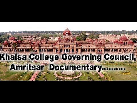 Khalsa College Governing Council, Amritsar Documentary..........