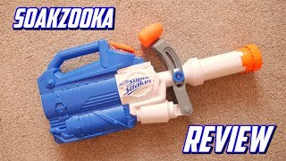 Nerf Super Soaker Soakzooka Unboxing, Review & Firing