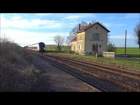 TRAINS PARIS-MULHOUSE - CORADIA - LIGNE4 - 31/12/2017- FRANCE