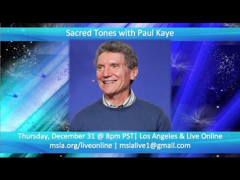 Sacred Tones with Paul Kaye