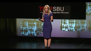 The secret I held my whole life - and how changing 3 words set me free | Debra Alfarone | TEDxSBU