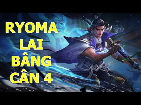 RYOMA đi rừng Hủy diệt Team Flash với màn cân 4 của Lai Bâng Liên quân mobile
