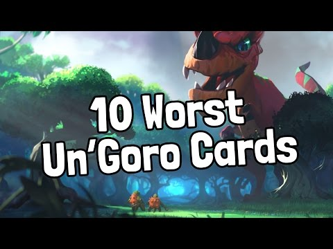 The 10 Worst Journey to Un'Goro Cards - Hearthstone