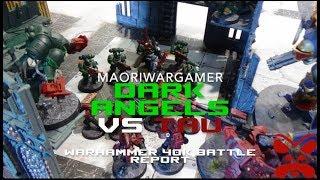 Dark Angels Vs Tau: Warhammer 40K Battle Report - Mission Three