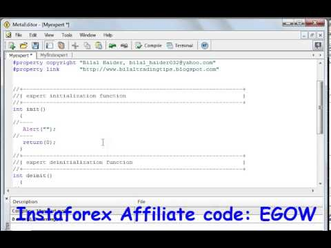 Mql4 Programming tutorial 03 Alert function