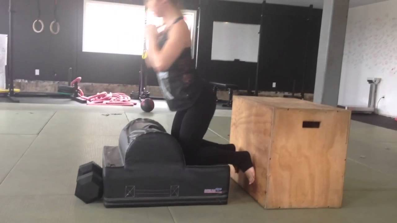 ... Rob Portable Glute Ham Raise Steph - YouTube Glute Ham Raise At Home ...