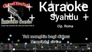 Download lagu Syahdu karaoke terbaik MP3