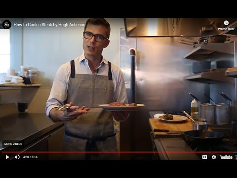 How to Cook a Steak by Hugh Acheson