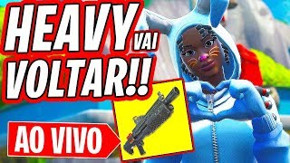 Fortnite-HEAVY WILL COME BACK!! NOUVEAU SKIN RAPTOR EN MAGASIN!! douane?? LIVESTREAM TOUTE LA NUIT!
