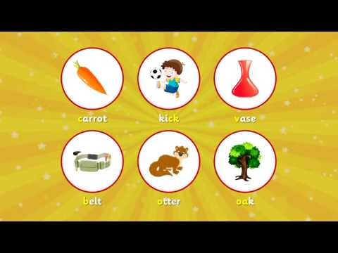 Phonics Word Finder App Preview for iOS and Android [Game for Kids]