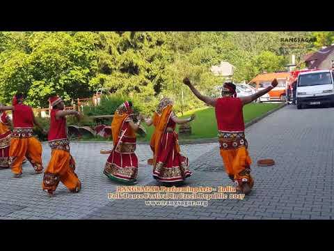Rangsagar Performing arts- folk dance -International Folk Dance Festival-2017 Czech Republic.