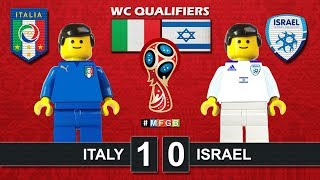 Italy vs Israel 1-0 • World Cup 2018 Qualifiers (05/09/2017) • Lego Goal Highlights Italia Israele
