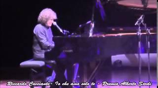 Riccardo Cocciante - Io che amo solo te - Premio Alberto Sordi 2015