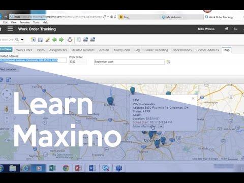 Maps Meet Maximo