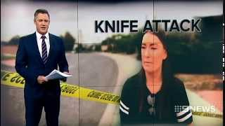 Knife Attack | 9 News Perth