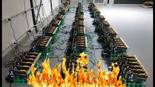 Майнинг ферма загорелась...