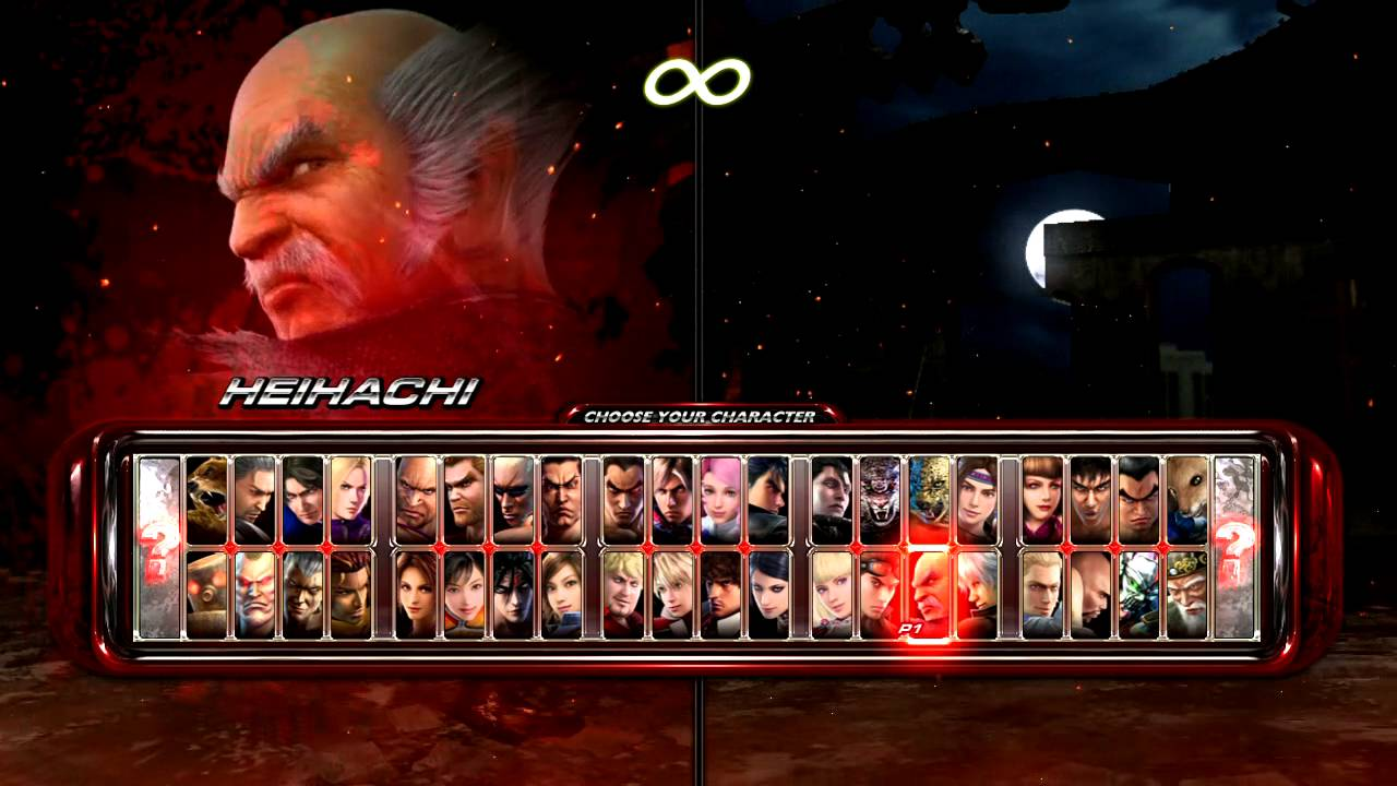 Tekken 6 Full Character Roster Youtube