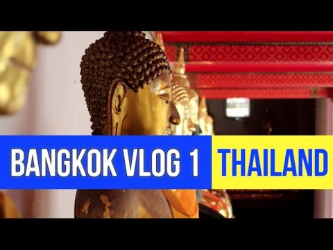 Bangkok Vlog 1 : Wat Pho Temple (Reclining Buddha) - Pad Thai - Mango Sticky Rice