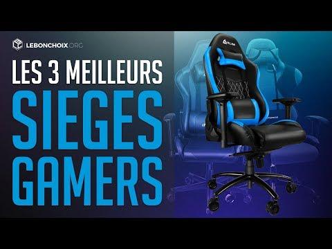 🔴 TOP 3 : MEILLEUR SIEGE GAMER 2018 ( COMPARATIF & TEST )