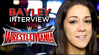 bayley interview dream wrestlemania opponent her preparation for asuka