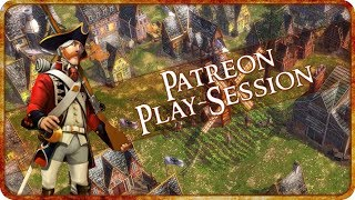 GET AWAY FROM ME - Age of Empires III Multiplayer Gameplay - Patreon Playsession!