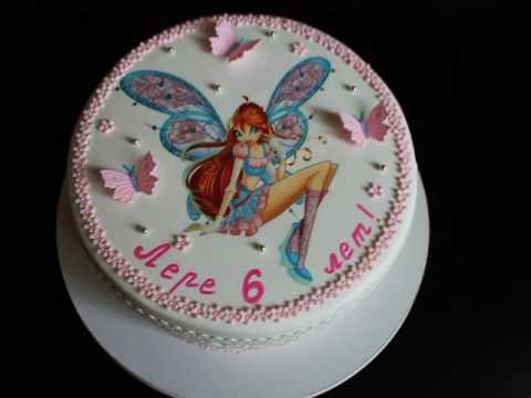 Как сделать торт винкс фото 772