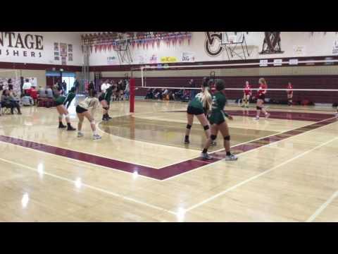 Sydney Mendoza-Beck #4 Moreau  catholic volleyball