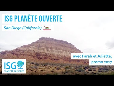 ISG Planète ouverte : San Diego avec Farah et Juliette (promo 2017)