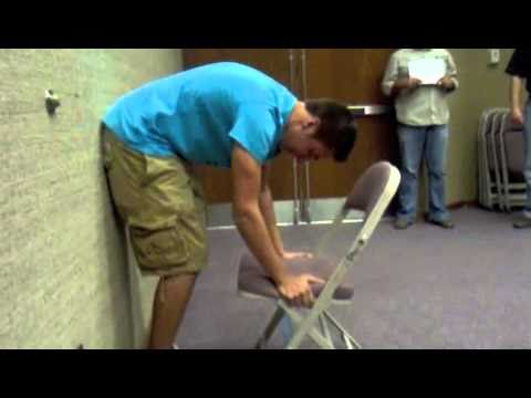 chair stand up trick cover wholesale the lifting experiment men vs women youtube