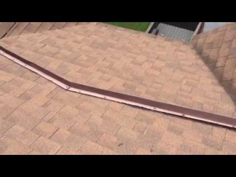 Roof leak water diveter youtube - Water leakage from roof ...