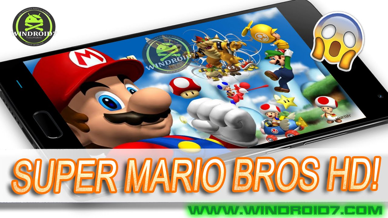 Descarga Epico Super Mario Bros Hd Para Android Apk Juego