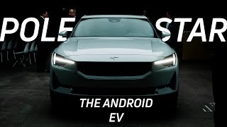 The FIRST EV that runs Android: Polestar 2 first look!