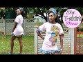 DIYT- shirt Dress with African Print Ankara