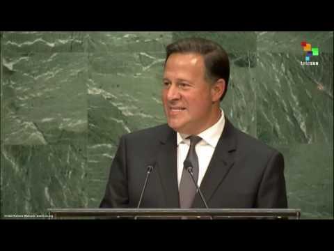 UN Speeches: Panamanian President Juan Carlos Varela